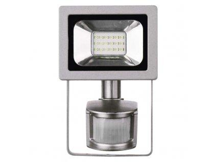 LED reflektor Emos Profi 10W neutrální bílá s čidlem ZS2710