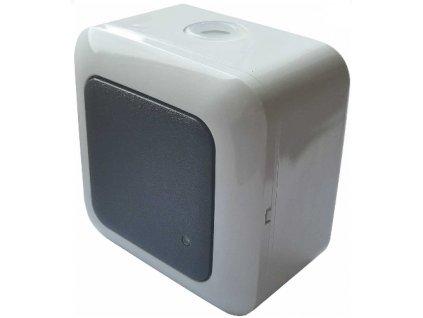 Přisazené stropní / nástěnné pohybové čidlo HF - mikrovlnné pohybové ovládání svítidel na 230V vhodný do interiéru i exteriéru, díky krytí IP 44 - proti prachu a vodě. Senzor HF snímá pohyb i přes lehké stavební materiál, např. sádrokarton, dřevo, sklo atd... reaguje na každý pohyb ve svém okolí.Možnost nastavení režimu ON/OFF/AUTO. Při režimu AUTO se svítidlo sepne vždy, podle nastavené citlivosti na světlo 3-2000 LUX. Senzor nereaguje na neživé předměty oproti PIR čidlu. Možnost plynulé regulace: - čas (TIME) - rozsah detekce pohybu (SENS) - nastaveni (noc/den) (LUX) Spínací prvek - RELÉ TopLux Osvětlení Praha, Libeň, Sokolovská - skladem na prodejně za nízké ceny