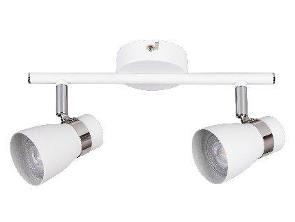 LED nástěné svítidlo ENALI je ideálním řešením do každé místnosti. Díky kovovému ohebnému kloubu o 310° si posvítíte na co právě potřebujete. Svítidlo je vyrobeno z kovu a plastu. Svítidlo je situováno pro LED žárovky GU10. TopLux Osvětlení Praha, Libeň, Sokolovská - skladem na prodejně