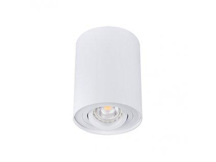 Bílé LED bodové svítidlo výklopné BORD DLP-50-W přisazené s paticí GU10 IP20 22551