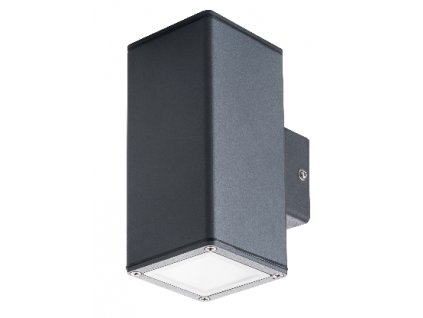 Fasádní GORI EL 2x35 W je hliníkové svítidlo s paticí GU10 vhodné pro montáž na fasádu domu. Spokojenost jak po designové stránce, tak i po funkčnosti samotného svítidla. Díky vyššímu krytí IP44 s dokonale izolovanou svorkovnicí zajišťuje dostatečnou ochranu, tudíž je toto svítidlo vhodné do jakéhokoliv počasí. Díky důmyslné konstrukci vytváří rovnoměrný světelný kužel, který vrhá pod sebe, čímž je v noci dosaženo elegantního efektu i díky průsvitnému krytu na čelní straně svítidla který podtrhuje design celého světla. Barva světla záleží na zakoupené žárovce s paticí GU10, které můžete naleznout zde. Zářivka GU10 není součástí balení!. TopLux Praha skladem