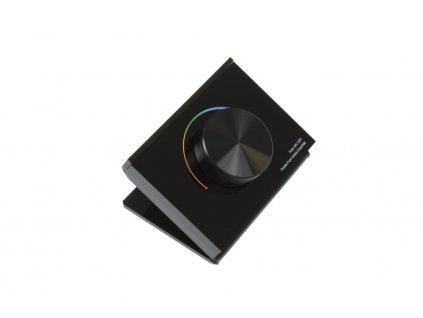 dimLED STK-RGB stolní otočný dálkový ovladač / stmívač černý pro LED osvětlení 069236. TopLux Praha skladem