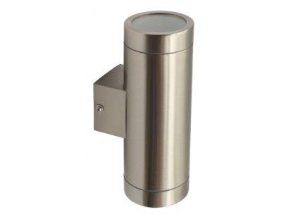 Fasádní oboustranné svítidlo MAGRA 235 je hliníkové svítidlo s dvěma paticemi GU10 vhodné pro montáž na fasádu domu. Barva světla závisí na zvolené žárovce, je tedy variabilní, zda-li preferujete studenou, teplou nebo neutrální denní barvu světla. Krytí IP44 zajistí ochranu proti prachu a vlhkosti.Skleněný difuzor svítidla zajistí větší rozptyl světla a jeho intenzitu. Nejčastější využití na fasádu okolo rodinných a činžovních domů, na zídky a ploty do zahrad.. TopLux Praha skladem