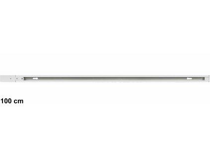 Napájecí 1F lišta 100cm DAISY AIKO bílá/černá vodící kolejnice pro jednofázová lištová svítidla. TopLux Praha skladem
