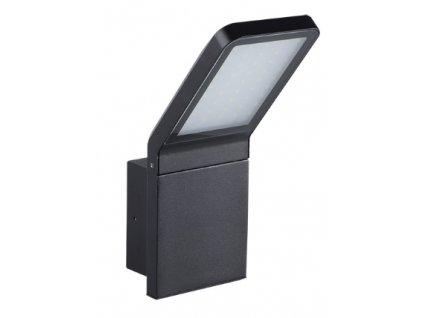 LED fasádní svítidlo SEVIA černé zaoblené 9W 4000K IP54 23550
