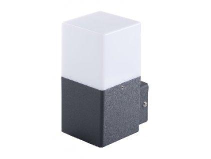 LED venkovní svítidlo VADRA 16l-UP s paticí E27 IP44 přisazené fasádní hranaté 29010