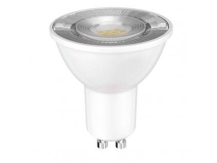LED bodová žárovka EMOS GU10 230V 7W velká svítivost do podhledových svítidel, LED bodovka GU10  s úzkým úhlem svitu 120°, na 230V, žárovka s bajonetovou otočnou paticí. TopLux Praha skladem.