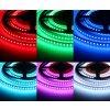 RGB - barevný LED pásek vnitřní záruka 3 roky 12V 24W 120LED/metr dlouhá životnost vysoká kvalita a svítivost bez úbytků svítivosti. Cena 269 Kč/m. TopLux Osvětlení Praha