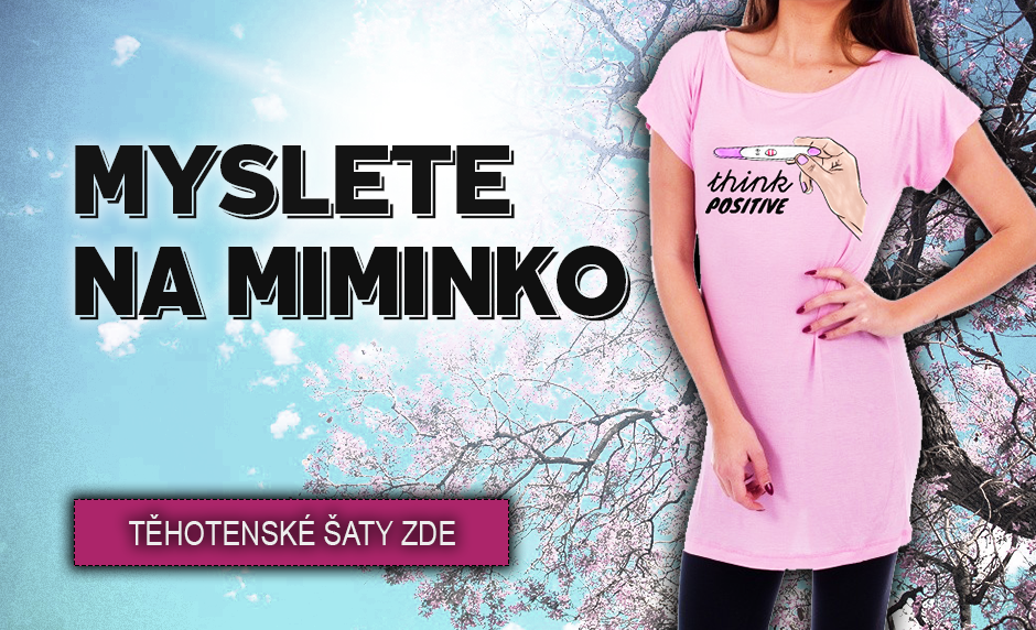 Myslete na miminko - Těhotenské šaty