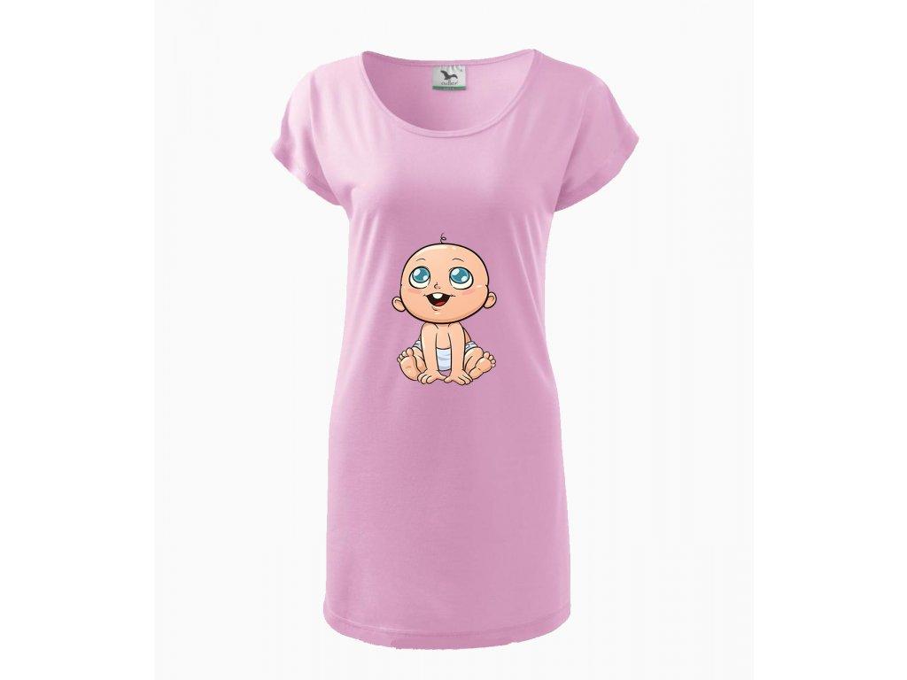 Těhotenské šaty ROZTOMILÉ MIMINKO