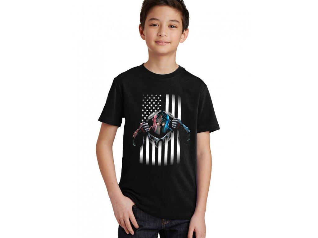 Dětské tričko fortnite Black Knight