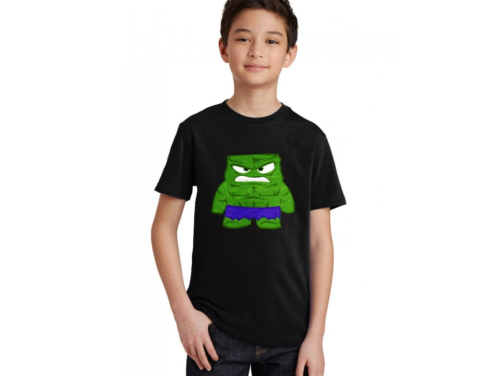 Dětské tričko Hulk naštvaný