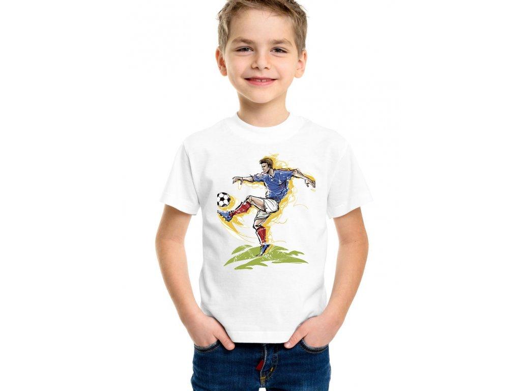 dětské tričko fotbalista