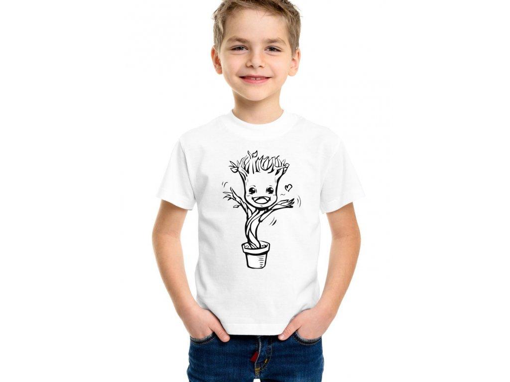 Dětské tričko Baby groot