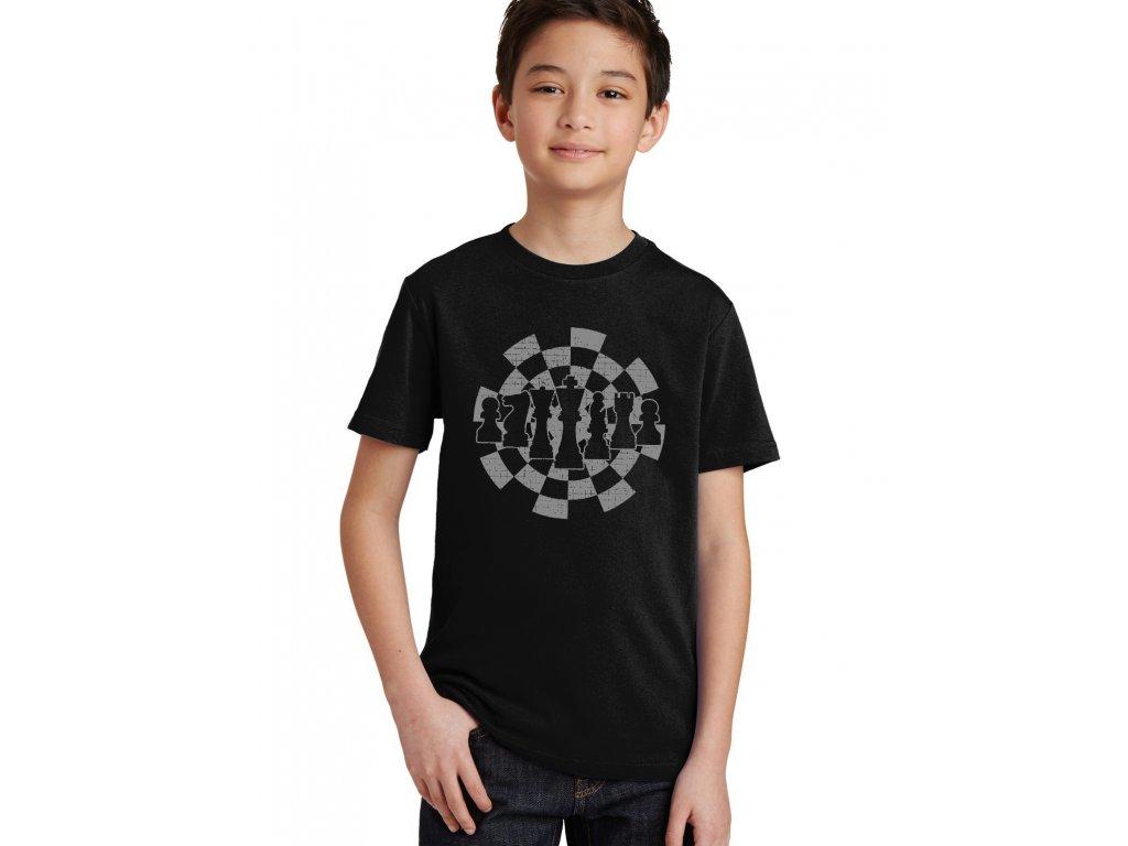 Dětské tričko Šachy