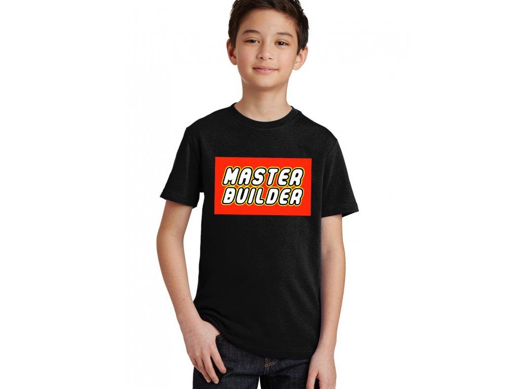 Dětské tričko Lego Mistr stavitel
