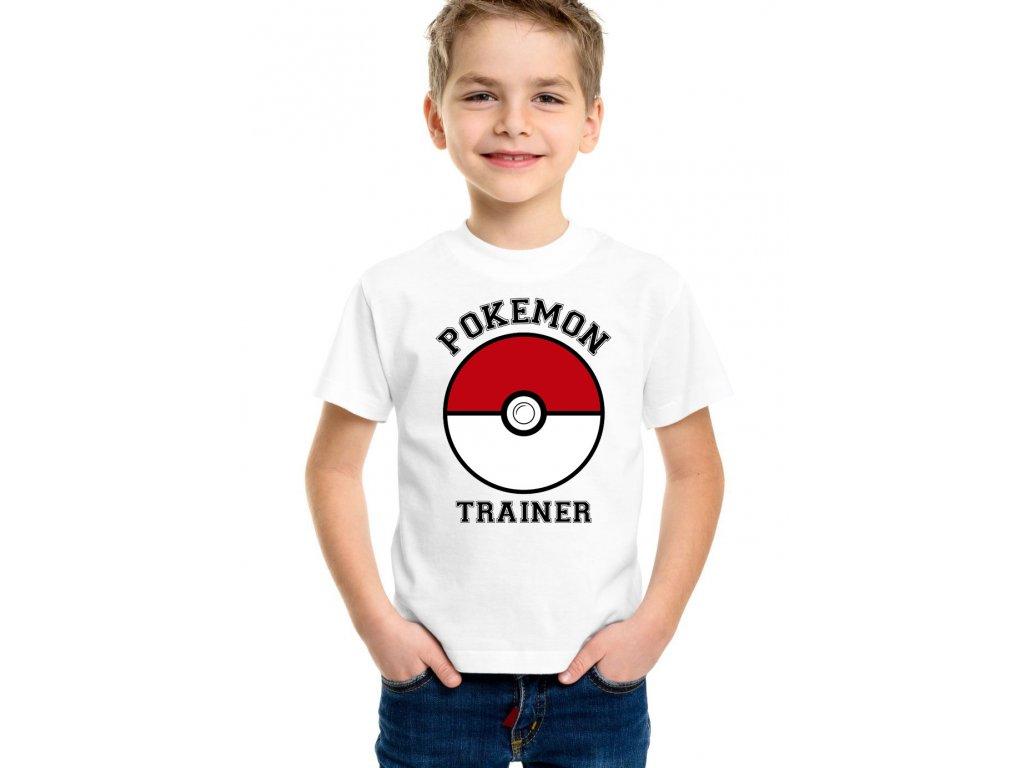 Dětské tričko Trenér pokémonů