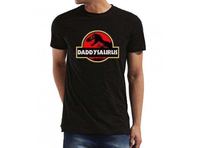 Pánské tričko pro tatínka daddysaurus jurský park
