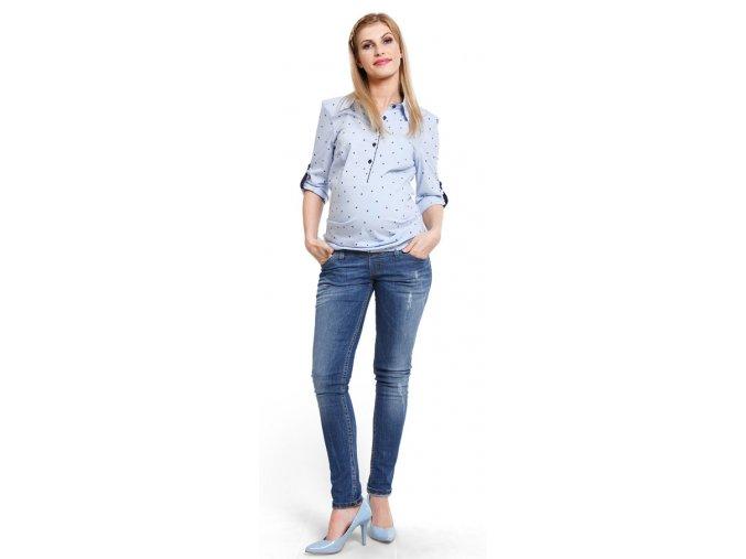 Těhotenské rifle Lipstic jeans