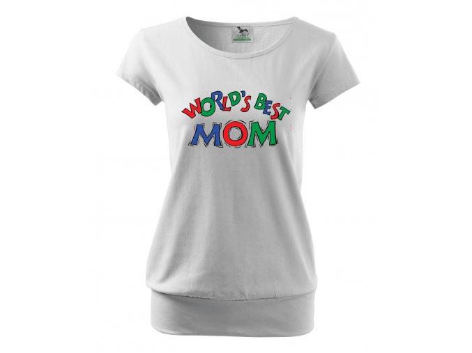 těhotenské bílé tričko nejlepší máma na světě