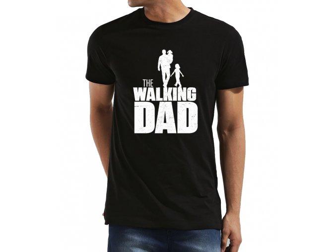 Pánské tričko pro tatínka chodící táta