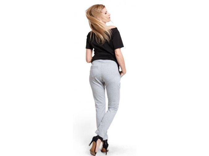 Těhotenské kalhoty City Grey pants