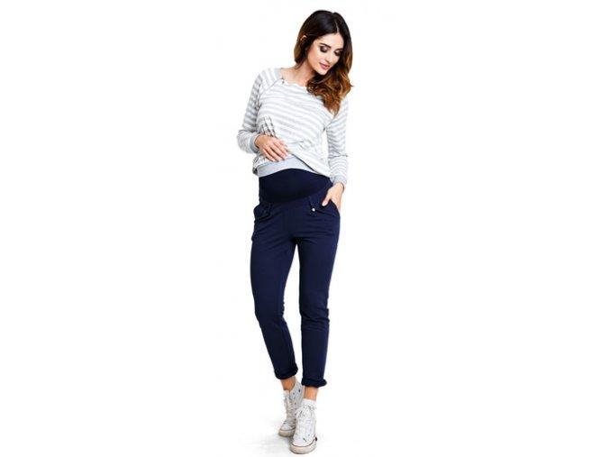 Těhotenské kalhoty Sugar Navy pants