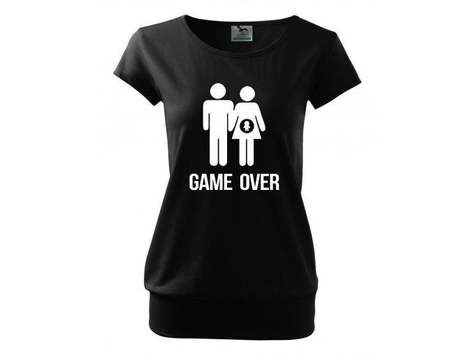 těhotenské tričko těhotenství konec hry