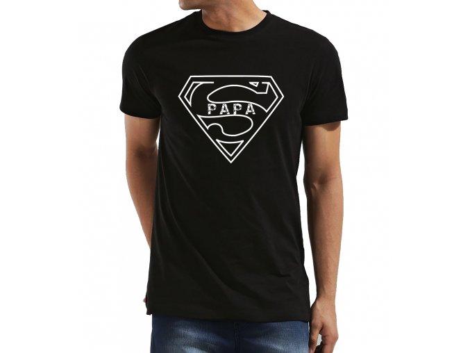Pánské tričko pro tatínka Superman táta