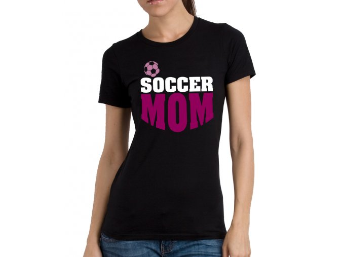 Dámské tričko pro maminku Fotbalová Máma