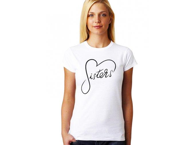 Dámské tričko pro Sestru Ségra Srdce