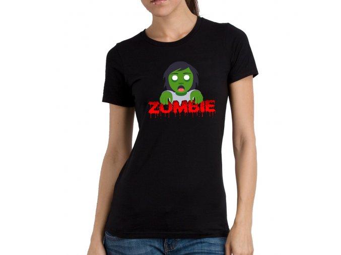 Dámské tričko pro Sestru Ségra zombie