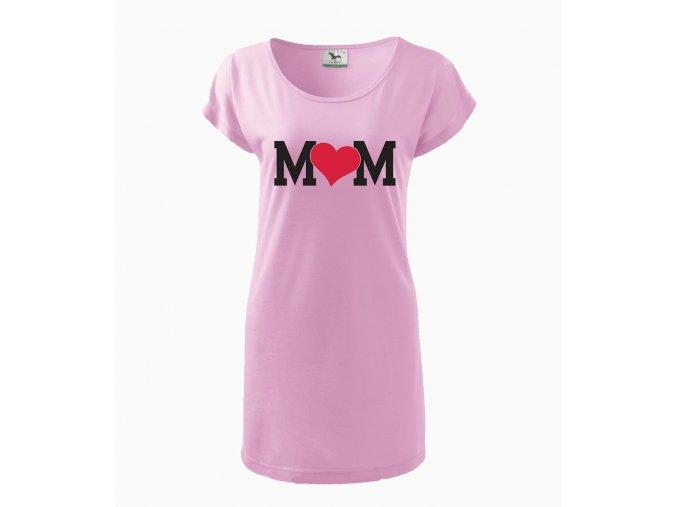 Těhotenské šaty maminka