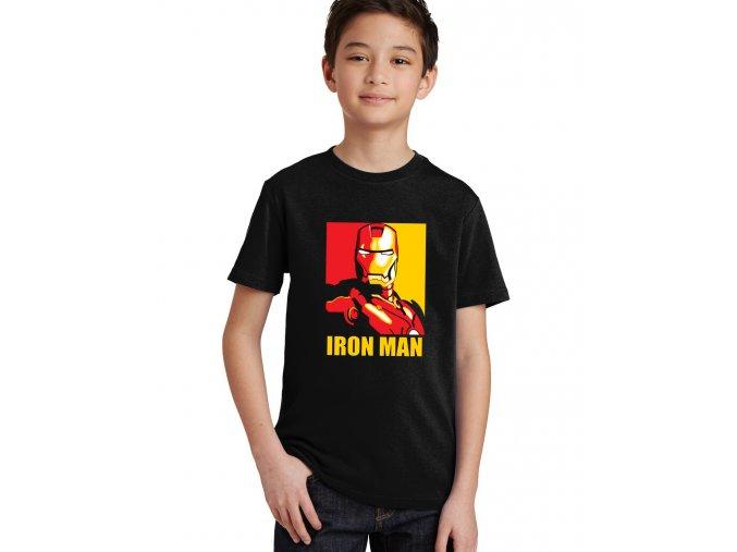 Dětské tričko Ironman