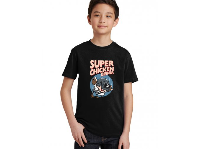 Dětské tričko Super Mario PUBG
