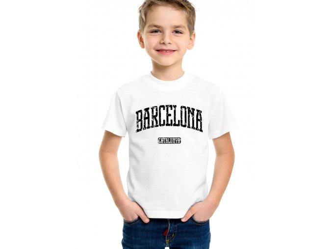 dětské tričko Fc barcelona katalánsko