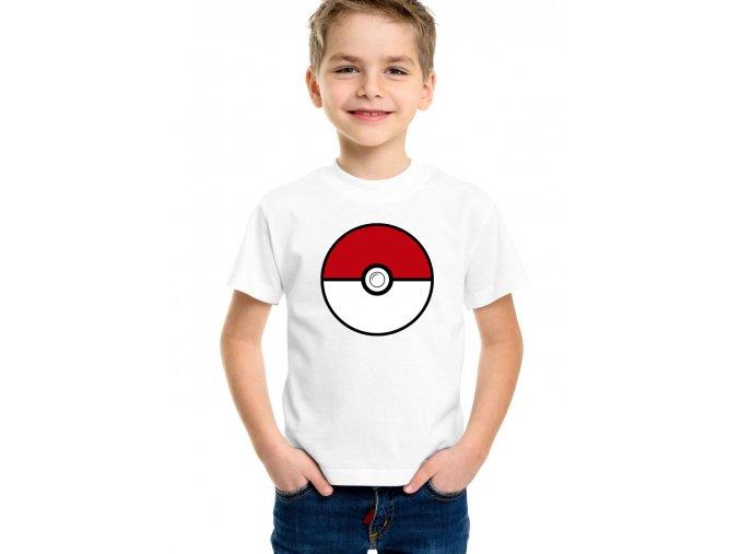dětské tričko pokemon