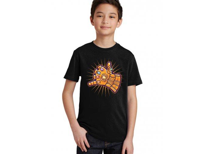 Dětské tričko Thanos ruka