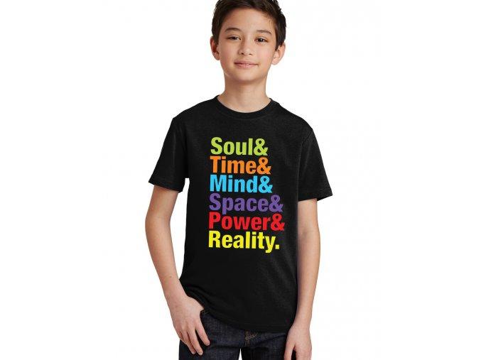 Dětské tričko Kameny nekonečna Avengers