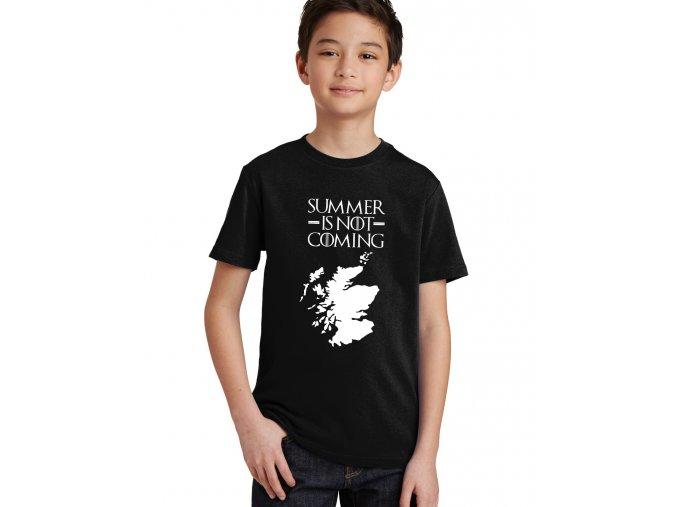 Dětské tričko Léto nepřichází Game of Thrones