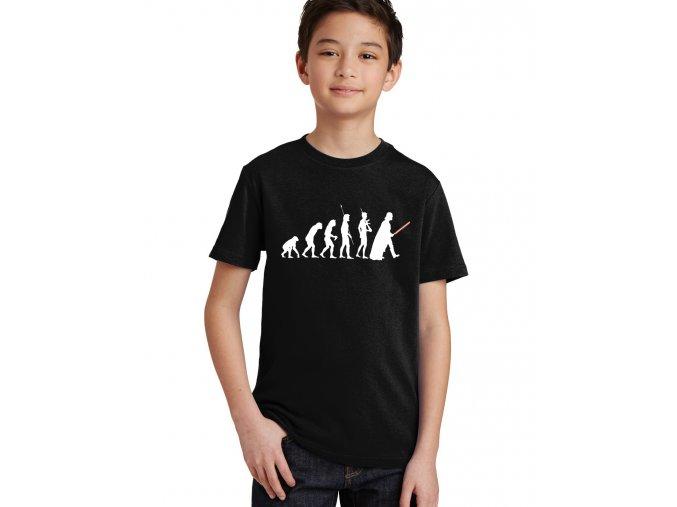 Dětské tričko star wars evoluce