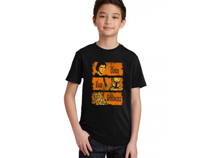 Dětské tričko Star wars Wookiee