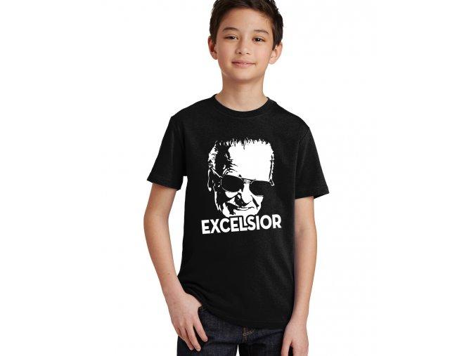 Dětské tričko Excelsior Stan Lee