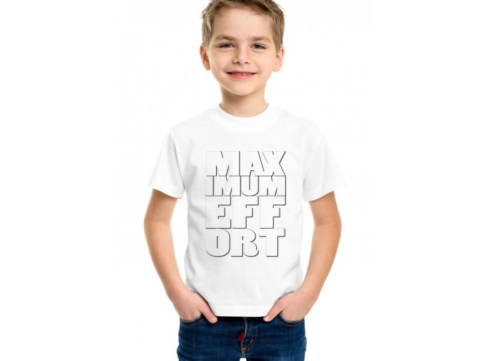 Dětské tričko deadpool Maximum Effort