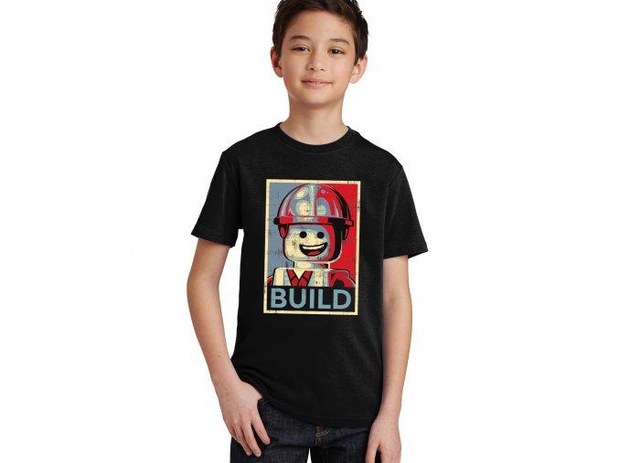 Dětské tričko Lego Stavitel