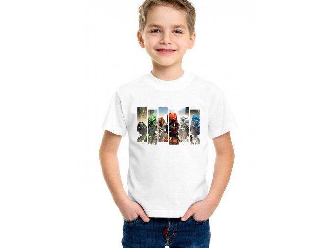 Dětské tričko Lego Bionicle