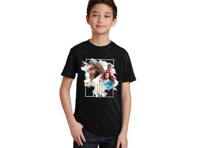 Dětské tričko Aquaman