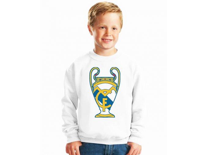 dětská mikina Fc Real madrid pohár