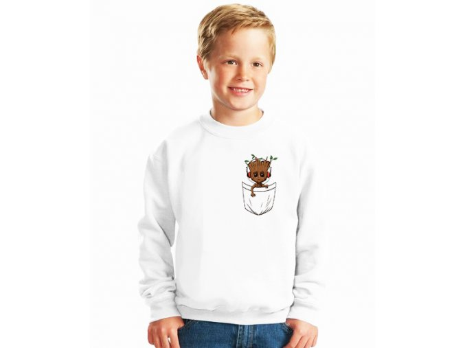 dětská mikina Groot kapsička