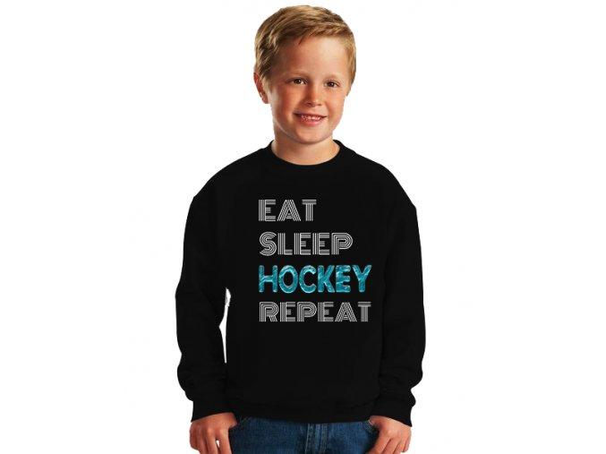 dětská mikina Hokej